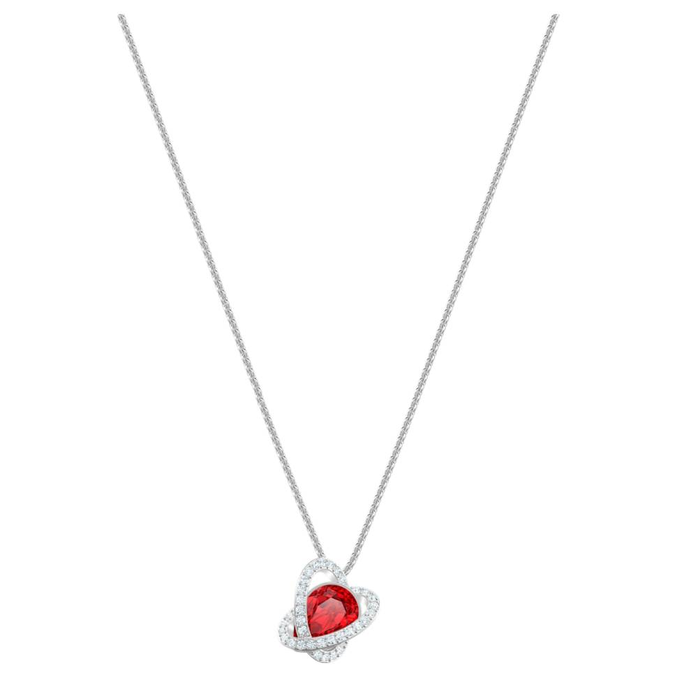 Swarovski Outstanding Rhodium Plated Women's Necklace