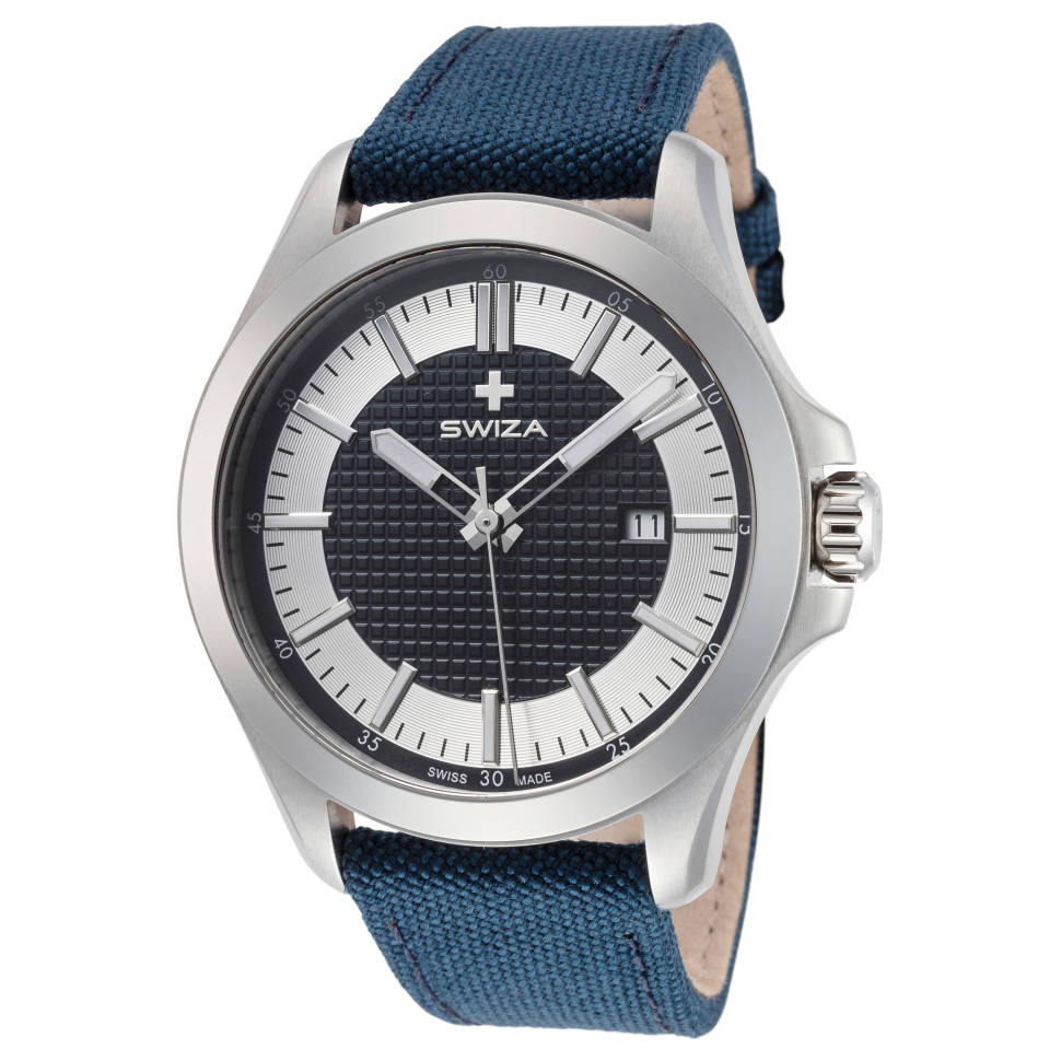 Swiza Urbanus Stainless Steel Quartz Men's Watch