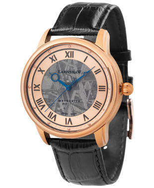 Thomas Earnshaw Longitude Meteorite Men's Automatic Watch ES-0034-06