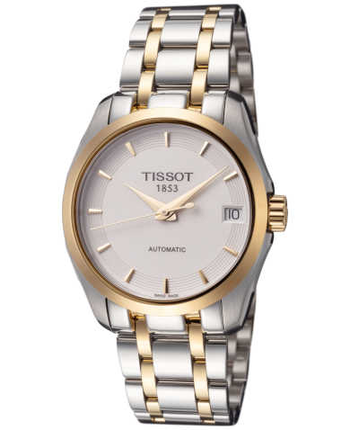 Tissot T-Classic Couturier Women's Automatic Watch T0352072201100