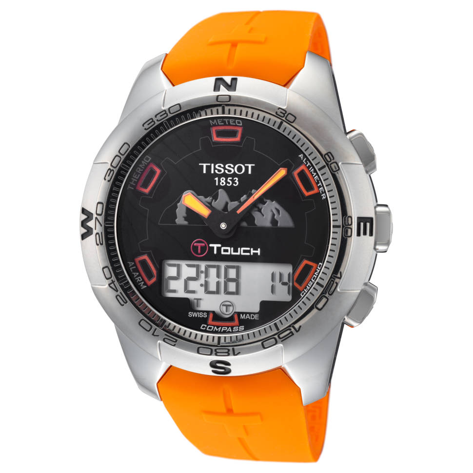 Tissot T-Touch Men's Quartz Watch (Orange)