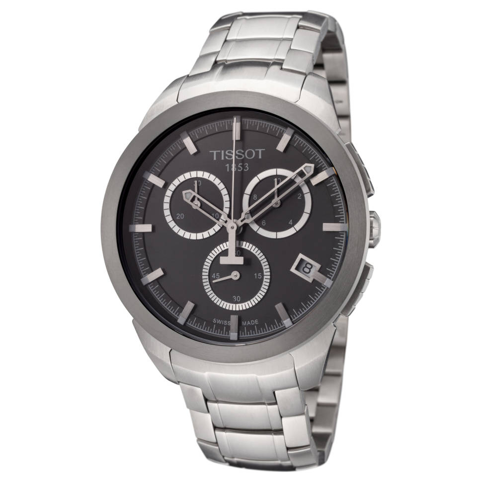 Tissot T-Sport Men's Titanium Watch (Black)