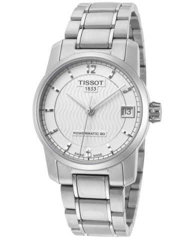 Tissot T-Classic Titanium Women's Automatic Watch T0872074403700
