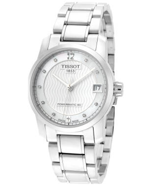 Tissot T-Classic Titanium Women's Automatic Watch T0872074411600