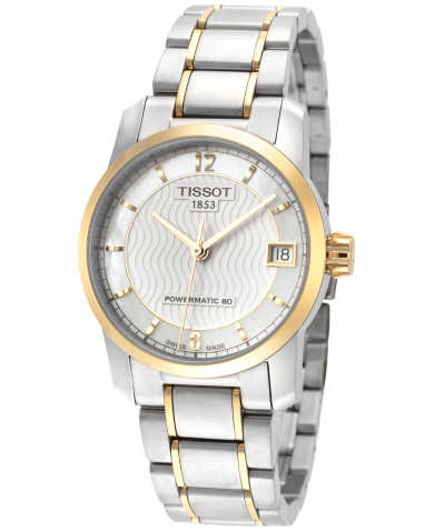 Tissot T-Classic Titanium Women's Automatic Watch T0872075511700