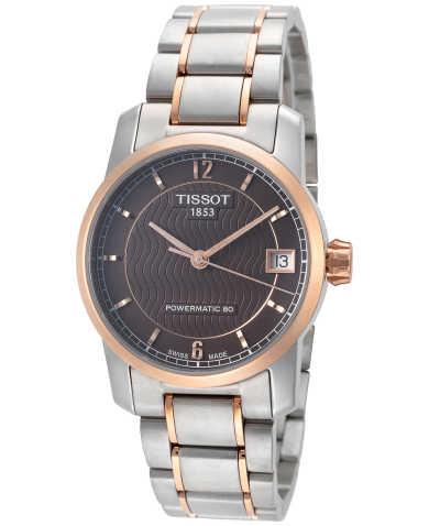 Tissot T-Classic Titanium Women's Automatic Watch T0872075529700