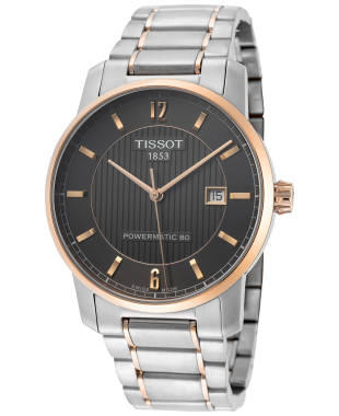 Tissot T-Classic Titanium Men's Automatic Watch T0874075506700