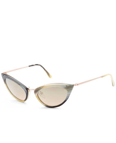 Tom Ford Women's Sunglasses FT0349-64J-52