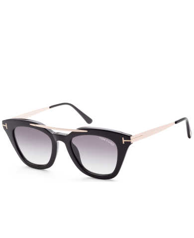 Tom Ford Women's Sunglasses FT0575-01B-49